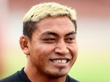 Jerry Collins speaks to the media during a Barbarians training session at North Sydney Oval on June 2, 2009
