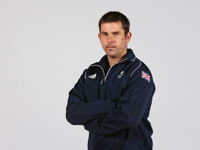 Ed Ling of Team GB during the Team GB kitting out ahead of Baku 2015 European Games at the NEC on June 2, 2015