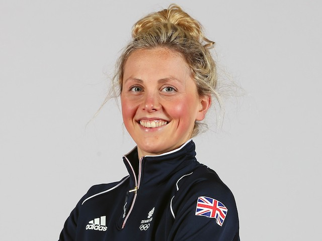 Heather Sellers of Team GB during the Team GB kitting out ahead of Baku 2015 European Games at the NEC on June 1, 2015