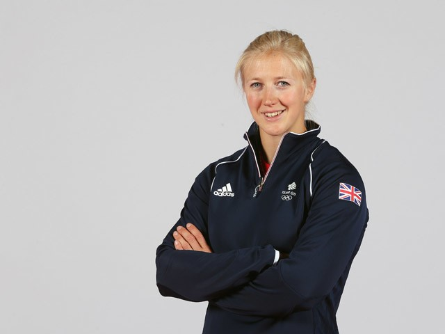 Rachel Cawthorn of Team GB during the Team GB kitting out ahead of Baku 2015 European Games at the NEC on June 2, 2015