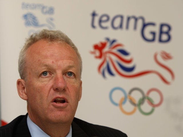 Simon Clegg, the British Olympic Team Chef de Mission pictured at a press conference held during the Team GB Kitting Out at the NEC on July 3, 2008