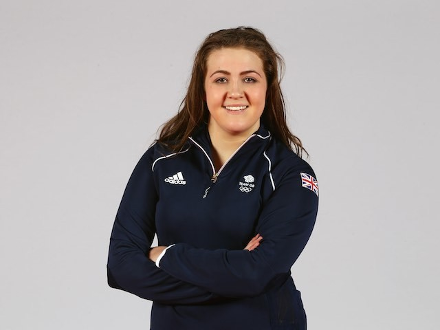 Team GB water polo star Verity McCoy at kitting out ahead of the European Games in May 2015