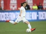 Karen Carney #10 of England advances the ball against Canada during their Women's International Friendly match on May 29, 2015