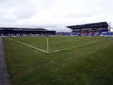 General view of the Caledonian Stadium, home of Inverness Caledonian Thistle FC taken prior to the Clydesdale Bank Scottish Premier League match between Inverness Caledonian Thistle FC and Motherwell FC at The Tulloch Stadium on May 04, 2013