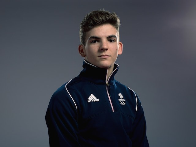 Team GB diver Ross Haslam at kitting out for the European Games in May 2015