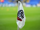 A general view of a corner flag at the Reebok Stadium during the FA CupThird Round match between Bolton Wanderers and Blackpool at the Reebok Stadium on January 4, 2014