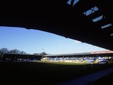 General view of Bury Football Club stadium Gigg Lane during a photoshoot held in Bury on January 24, 2001