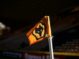 A general view of a corner flag ahead of the Sky Bet Championship match between Wolverhampton Wanderers and Watford at Molineux on March 7, 2015