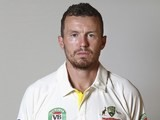 Peter Siddle poses during an Australia portrait session in May 2015