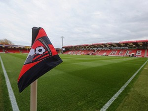 A general view inside the stadium prior to the Sky Bet Championship match between AFC Bournemouth and Bolton Wanderers at Goldsands Stadium on April 27, 2015
