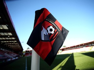 A general view of a corner flag ahead of the Sky Bet Championship match between AFC Bournemouth and Cardiff City at Goldsands Stadium on December 13, 2014