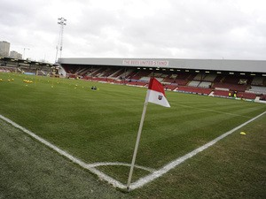 General view of Griffin Park before the Sky Bet League One match between Brentford and Oldham Athletic at Griffin Park on December 14, 2013