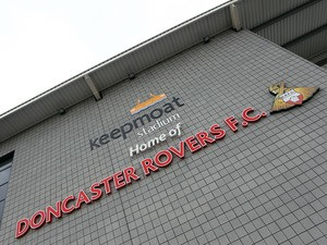General views of the Keepmoat Stadium during npower Championship match between Doncaster Rovers and Coventry City at the Keepmoat Stadium on October 29, 2011