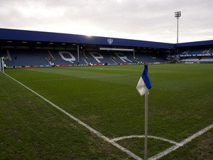 A general view shows Queens Park Rangers stadium ahead of the English Premier football match against Liverpool at Loftus Road in London on December 30, 2012