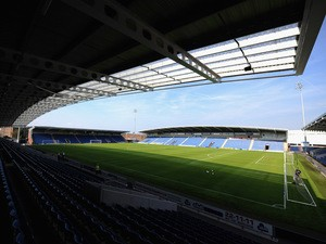 A general view from inside the Proact Stadium during the Pre Season Friendly match between Chesterfield and Nottingham Forest at Proact Stadium on July 16, 2013