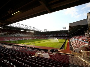A general view of the ground ahead of the UEFA Europa League match between West Ham United and FC Lusitans at Boleyn Ground on July 2, 2015