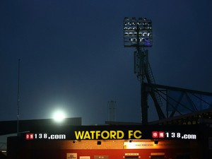 A general view of the exterior of the ground ahead of the during the Sky Bet Championship match between Watford and Wolverhampton Wanderers at Vicarage Road on December 26, 2014