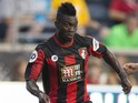 Christian Atsu #20 of AFC Bournemouth controls the ball in the friendly match against the Philadelphia Union on July 14, 2015