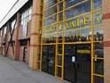 External view of Vale Park, home of Port Vale on March 1, 2011