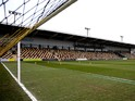 A general view of Rodney Parade prior to the Sky Bet League Two match between Newport County AFC and Chesterfield at Rodney Parade on December 01, 2013
