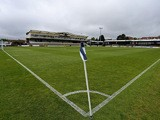 A general view of the ground ahead of the Vanarama Football Conference League Play Off Semi Final Second Leg between Bristol Rovers and Forest Green Rovers at Memorial Stadium on May 3, 2015