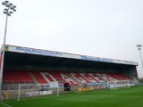 A general view of the London Borough of Barking & Dagenham Stadium prior the Sky Bet League Two match between Dagenham & Redbridge and Northampton Town at the London Borough of Barking & Dagenham Stadium on September 6, 2014