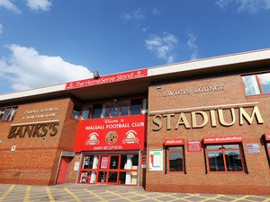 A general view of the Bank's Stadium ahead of the Pre Season Friendly match between Walsall and Leicster City at Banks' Stadium on July 30, 2014