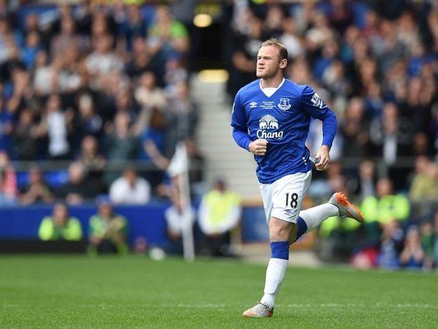 Wayne Rooney Vs Everton Manchester United s former Everton forward Wayne Rooney comes on