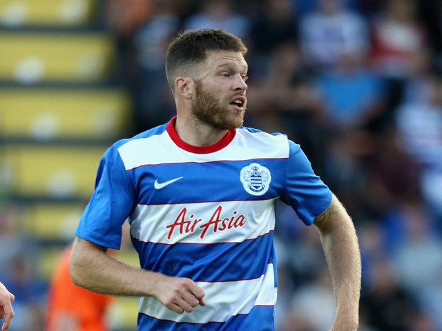 Jamie Mackie of QPR looks on during the pre season friendly match between Queens Park Rangers and Dundee United at The Hive on July 22, 2015