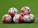 A bunch of match balls (generic)