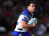 Corey Thompson of the Canterbury Bulldogs in May 2015