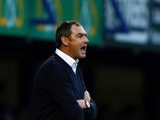 Derby County manager Paul Clement during the Capital One Cup First Round match between Portsmouth v Derby County at Fratton Park on August 12, 2015