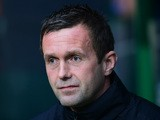 Celtic manager Ronny Deila looks on during the UEFA Champions League Qualifying play off first leg match, between Celtic FC and Malmo FF at Celtic Park on August 19, 2015