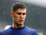 John Stones of Everton looks on prior to the Barclays Premier League match between Everton and Manchester City at Goodison Park on August 23