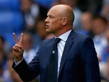 Leeds manager Uwe Rosler during the game with Reading on August 16, 2015