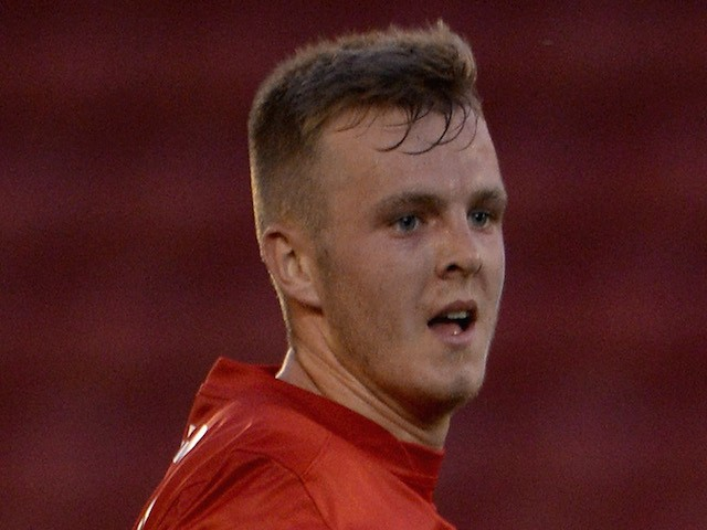 Sam Patterson of Barnsley during a Pre Season Friendly between Barnsley and Bordeaux at Oakwell Stadium on July 25, 2013