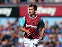 Josh Cullen of West Ham United during the Betway Cup match between West Ham Utd and SV Werder Bremen at Boleyn Ground on August 2, 2015