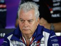 Pat Symonds of Williams looks on during a press conference after practice for the Formula One Grand Prix of Austria at Red Bull Ring on June 19, 2015