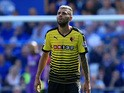 Valon Behrami of Watford during the Barclays Premier League match between Everton and Watford at Goodison Park on August 8, 2015