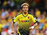 Alessandro Diamanti of Watford in action during the Barclays Premier League match between Watford and Southampton at Vicarage Road on August 23, 2015