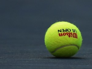 A generic image of a tennis ball used at the 2015 US Open