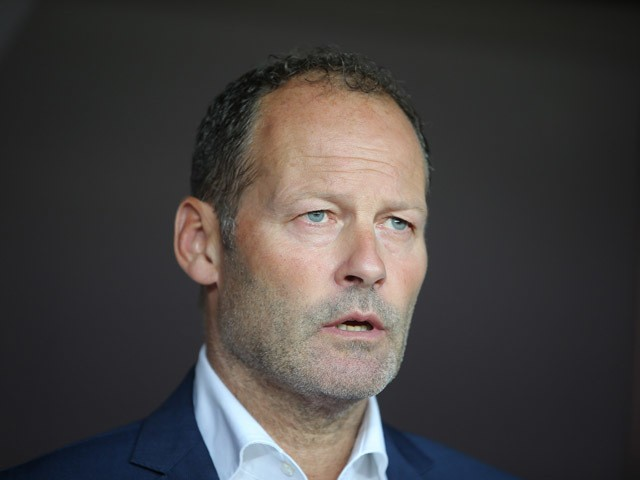 Netherlands' head coah Danny Blind looks on during the Euro 2016 qualifying football match between Turkey and Netherlands at the Arena Stadium in Konya, on September 6, 2015