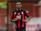AFC Bournemouth striker Callum Wilson in action during the Pre season friendly match between Exeter City and AFC Bournemouth at St James Park on July 18, 2015
