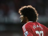 Marouane Fellaini in action for Man Utd against Liverpool on September 12, 2015