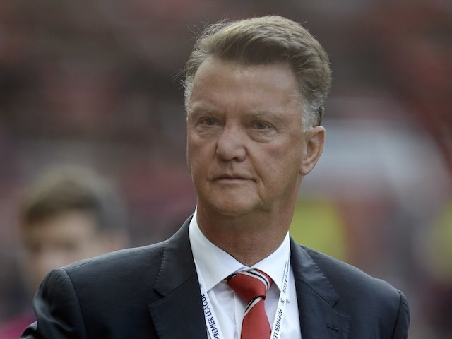 Man Utd boss Louis van Gaal prior to the game with Liverpool on September 12, 2015
