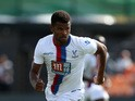 Fraizer Campbell of Crystal Palace in action during a Pre Season Friendly between Barnet and Crystal Palace at The Hive on July 11, 2015