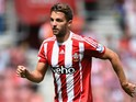 Jay Rodriguez of Southampton in action during the Barclays Premier League match between Southampton and Everton at St Mary's Stadium on August 15, 2015 in Southampton, United Kingdom.