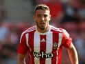 Sam McQueen of Southampton in action during the pre season friendly match between Southampton and Espanyol at St Mary's Stadium on August 2, 2015 in Southampton, England.