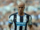 Gabriel Obertan of Newcastle United during the Barclays Premier League match between Newcastle United and Southampton