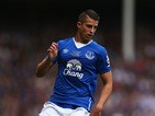 Kevin Mirallas of Everton in action during the Duncan Ferguson Testimonial match between Everton and Villarreal at Goodison Park on August 2, 2015